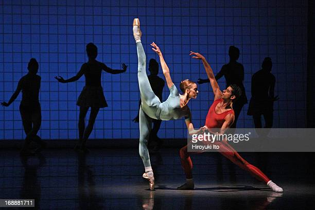New York City Ballet performing in its American Music Festival at the David H. Koch Theater on Friday night, May 10, 2013.This image:Maria Kowroski...