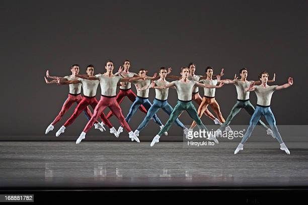 New York City Ballet performing in its American Music Festival at the David H Koch Theater on Friday night May 10 2013This imageA Scene from Glass...