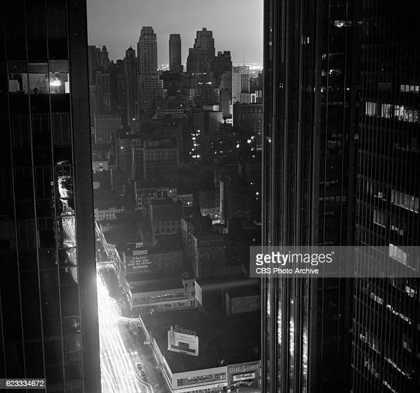 New York City blackout also known as the Northeast blackout of 1965 Photographs taken at CBS headquarters and at various locations in the city Image...
