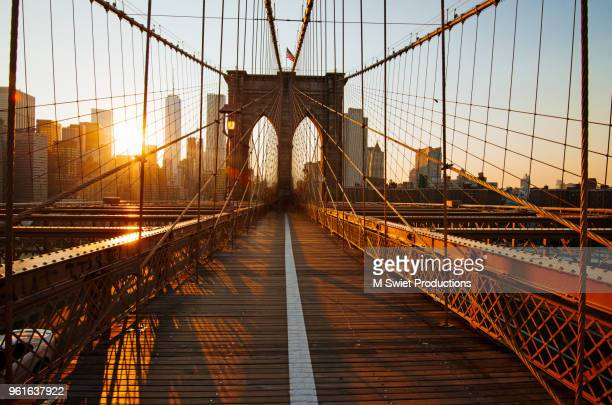 new york city brookyln - brooklyn bridge stock pictures, royalty-free photos & images