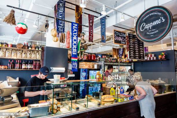 New York City Chelsea Market Cappone's Italian deli