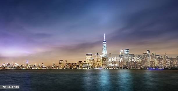 New York City Cityscape Panorama
