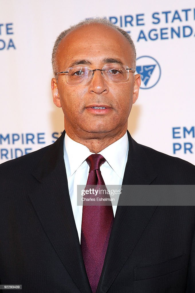 New York City Comptroller and mayoral candidate William C. Thompson attends the 18th Annual Empire State Pride Agenda Fall Dinner at the Sheraton New York Hotel & Towers on October 22, 2009 in New York City.
