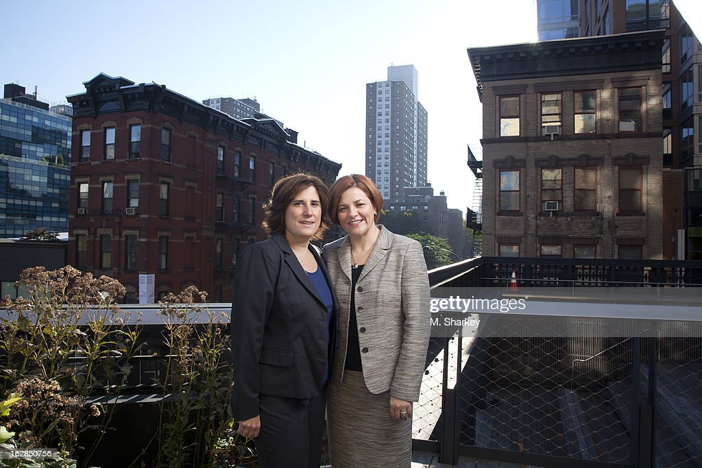 Christine Quinn and Kim Catullo, Out Magazine, December 2012/January 2013