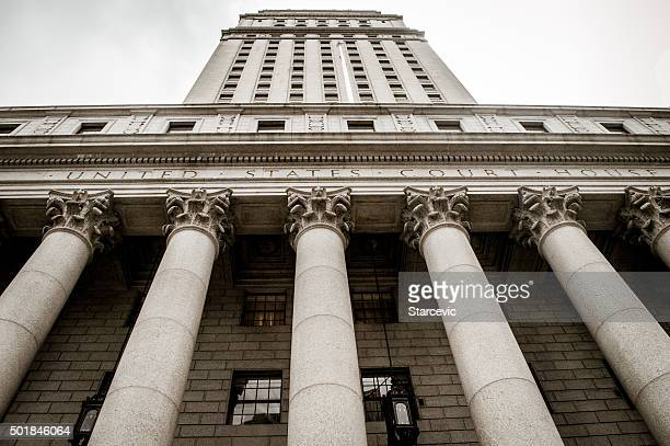 new york city courthouse - lady justice stock pictures, royalty-free photos & images