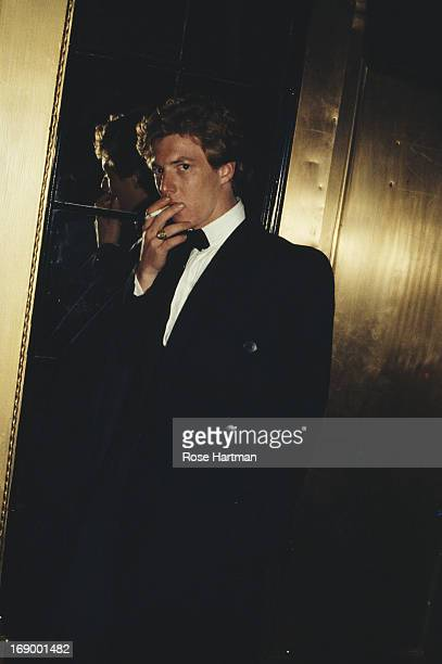 New York City doorman Harvey outside Studio 54 nightclub New York City circa 1990