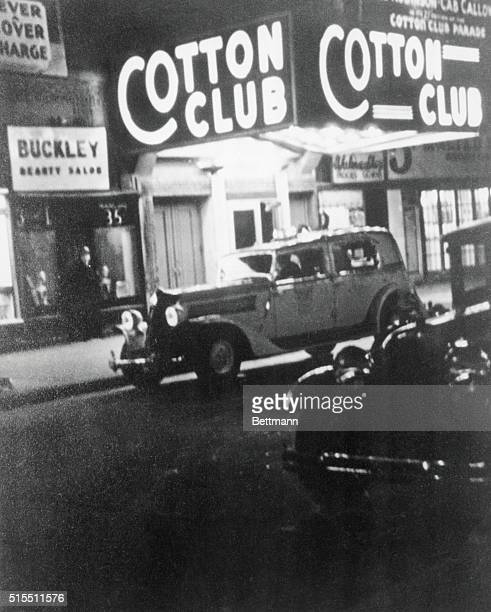 Exterior view of New York City's famous Cotton Club