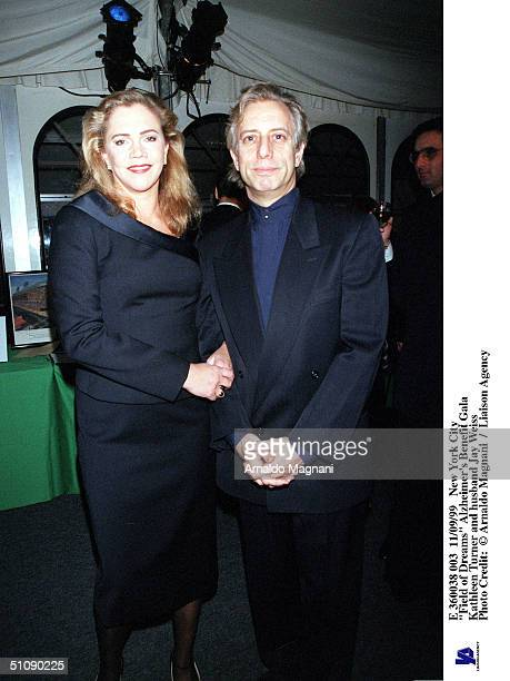New York City Field Of Dreams Alzheimer's Benefit Gala Kathleen Turner And Husband Jay Weiss