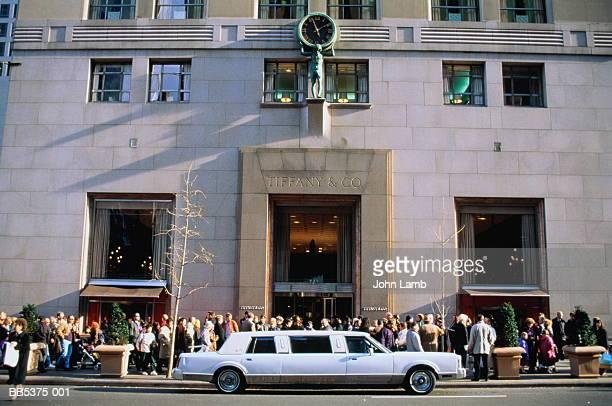 USA, New York City, Fifth Avenue, Tiffany & Co jewellery store