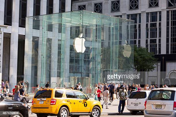 Flagship-Store in New York City Apple Store und Plaza