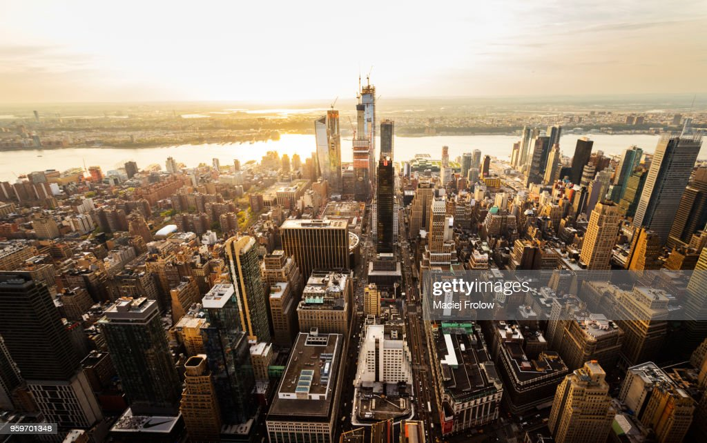 New York city from above : Stock-Foto