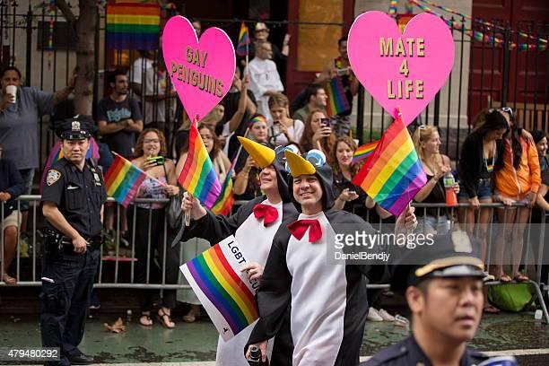 cidade de nova york parada orgulho gay de 2015 - happy new month - fotografias e filmes do acervo