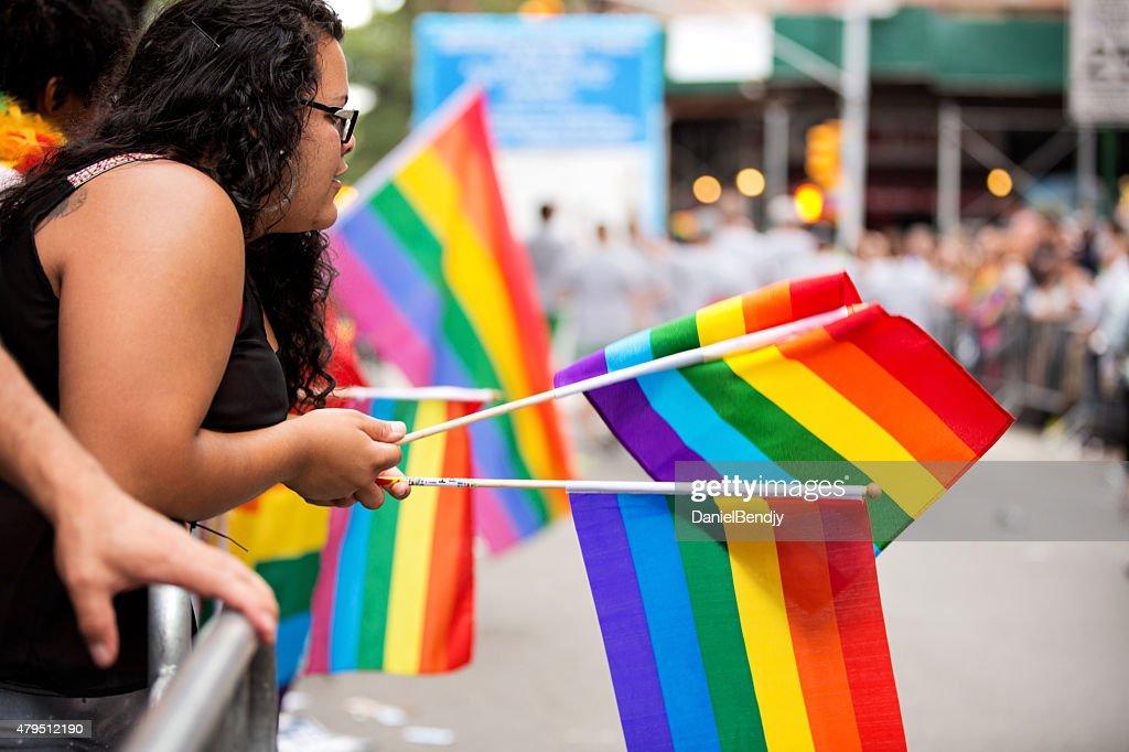 New York City Gay Pride Parade 2015 : Stock Photo