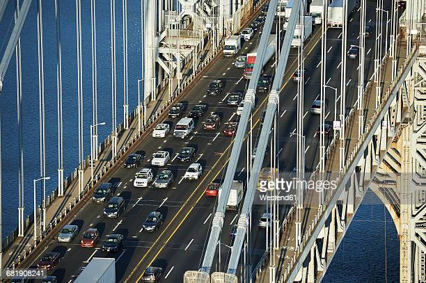 USA, New York City, George Washington Bridge