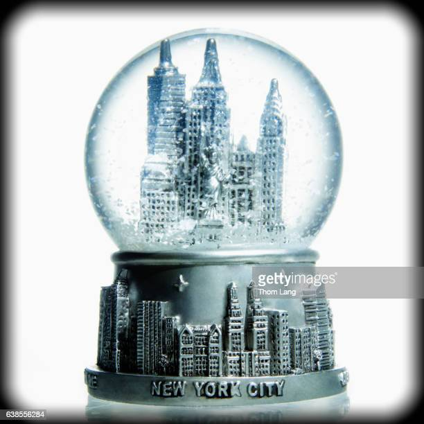New York City in a Bubble Globe