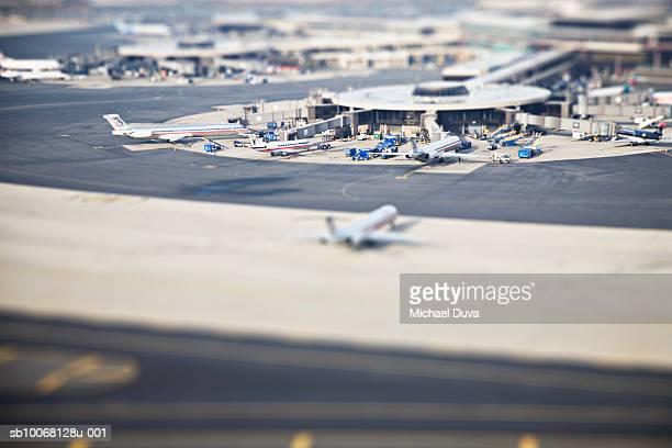 usa, new york city, laguardia airport - laguardia airport stock pictures, royalty-free photos & images