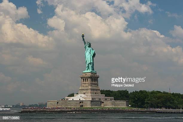 USA, NY, New York City, Liberty Island, The Statue of Liberty