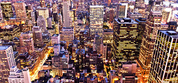 New York City Lights Wall Art