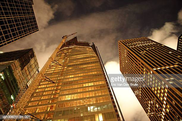 usa, new york city, low angle view - eric van den brulle imagens e fotografias de stock