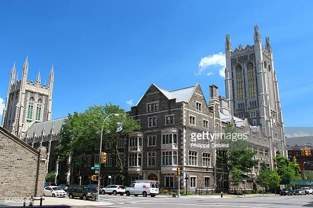 usa, new york city, manhattan, columbia's university, morningside castle. - ivy league university stock photos and pictures