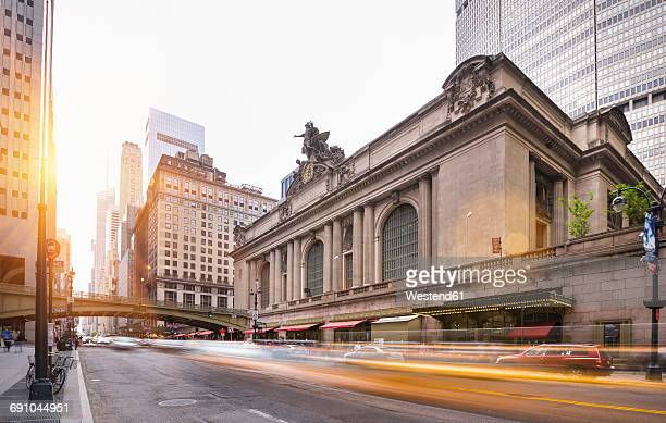 usa, new york city, manhattan, grand central station - grand central station stock photos and pictures