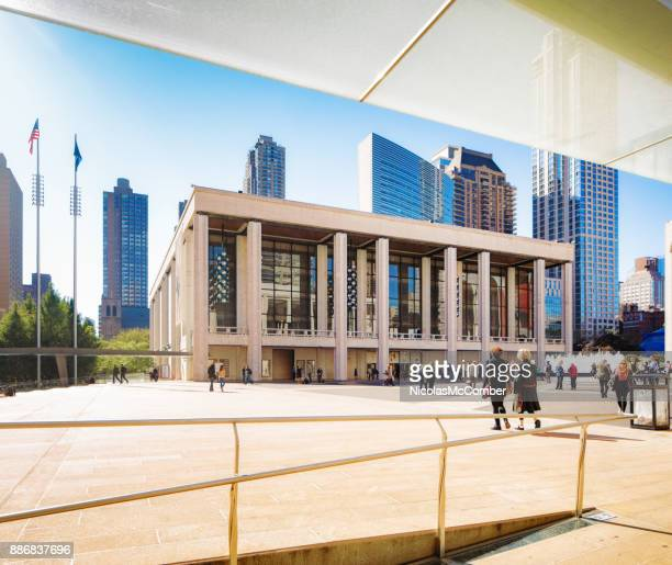new york city manhattan lincoln center for the performing arts koch theater - the theater lincoln center stock photos and pictures