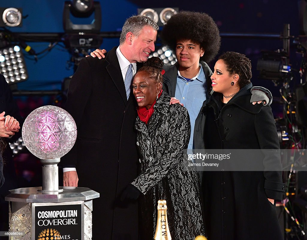 New Year's Eve 2015 In Times Square : News Photo