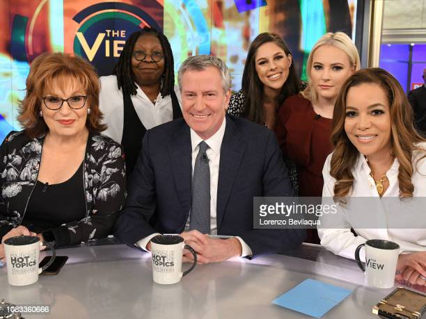New York City Mayor Bill de Blasio is a guest today January 16 2019 on ABC's The View The View airs MondayFriday on the ABC Television Network JOY