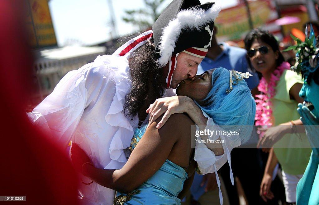 Annual Mermaid Parade Held In Coney Island : News Photo