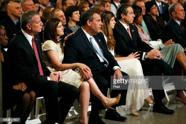 New York City Mayor Bill de Blasio Mary Pat Christie New Jersey Governor Chris Christie Mariah Cuomo New York Governor Andrew Cuomo first Lady...