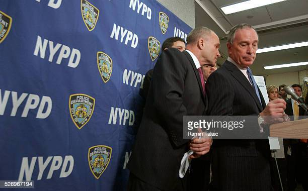New York City Mayor Michael Bloomberg and Police Commissioner Raymond Kelly announce the city's plans for the annual New Year's Eve celebration in...