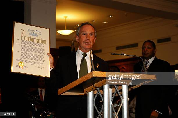 New York City Mayor Michael Bloomberg attends the 185th Anniversary of Brooks Brothers benefiting the National Colorectal Cancer Research Alliance...