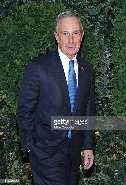 New York City Mayor Michael Bloomberg attends the 2011 MoMA Party In The Garden Benefit Honoring Patricia Phelps De Cisneros Mimi Haas Jill Kraus And...