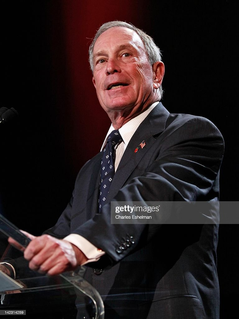 New York City Mayor Michael Bloomberg attends the 55th Annual New York Emmy Awards gala at the Marriott Marquis Times Square on April 1, 2012 in New York City.