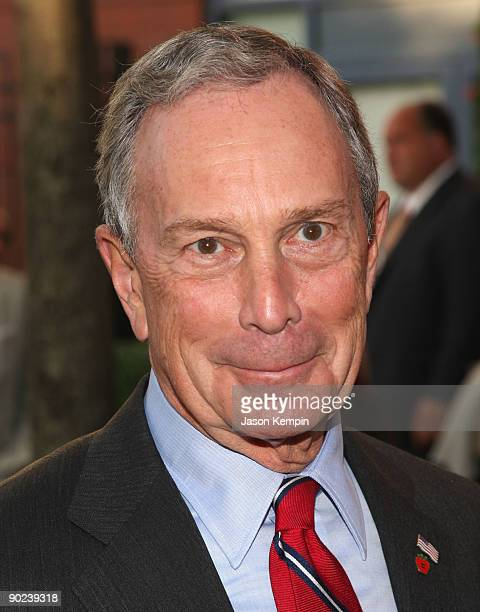 New York City Mayor Michael Bloomberg attends the 9th Annual USTA Serves OPENing Gala at the USTA Billie Jean King National Tennis Center on August...