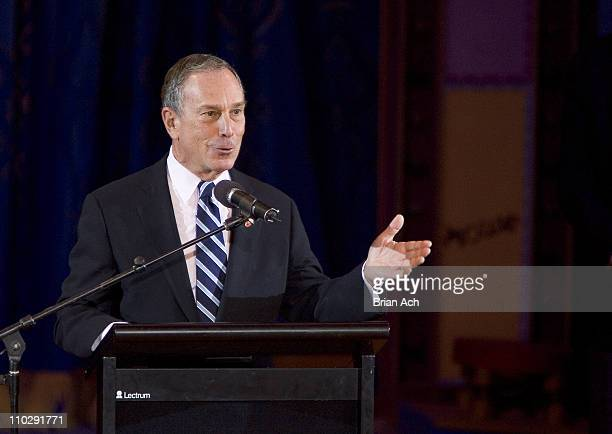 New York City Mayor Michael Bloomberg during Big Apple Circus Opening Night Gala Benefit at Damrosch Park at Lincoln Center in New York City New York...