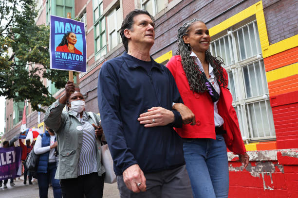 NY: NYC Mayoral Candidate Maya Wiley Casts Her Vote In Early Voting