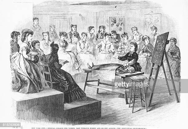 Medical College for Women East Twelfth Street and Second Avenue The Anatomical LectureRoom