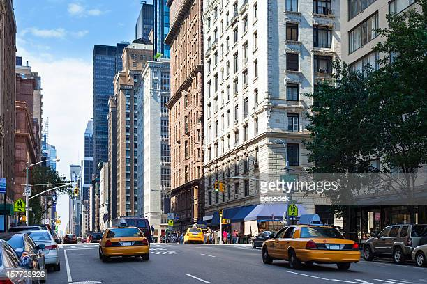 new york city, midtown manhattan - 7th avenue stock pictures, royalty-free photos & images