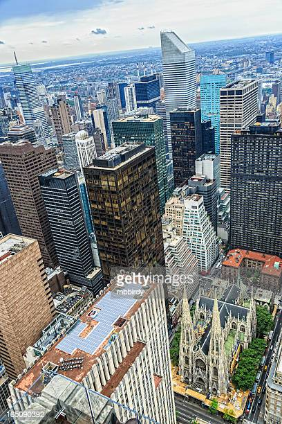 New York City midtown skyline, Manhattan, USA