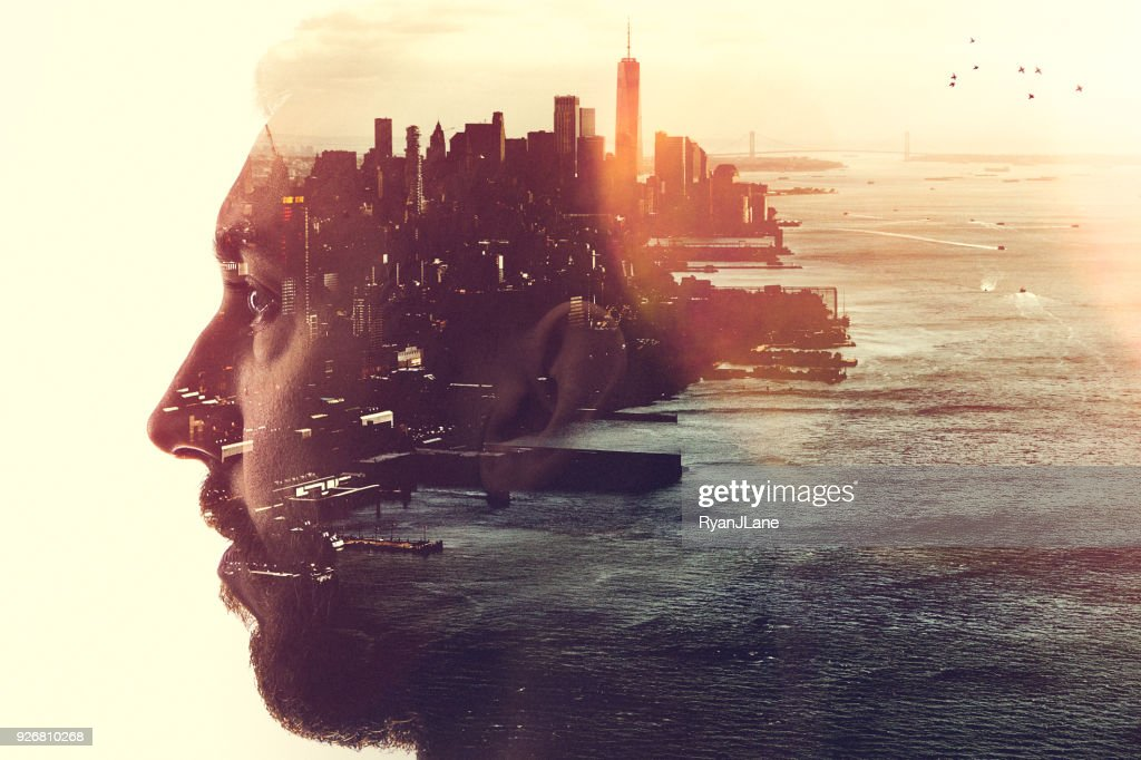 New York City Mind State Concept Image : Stock Photo
