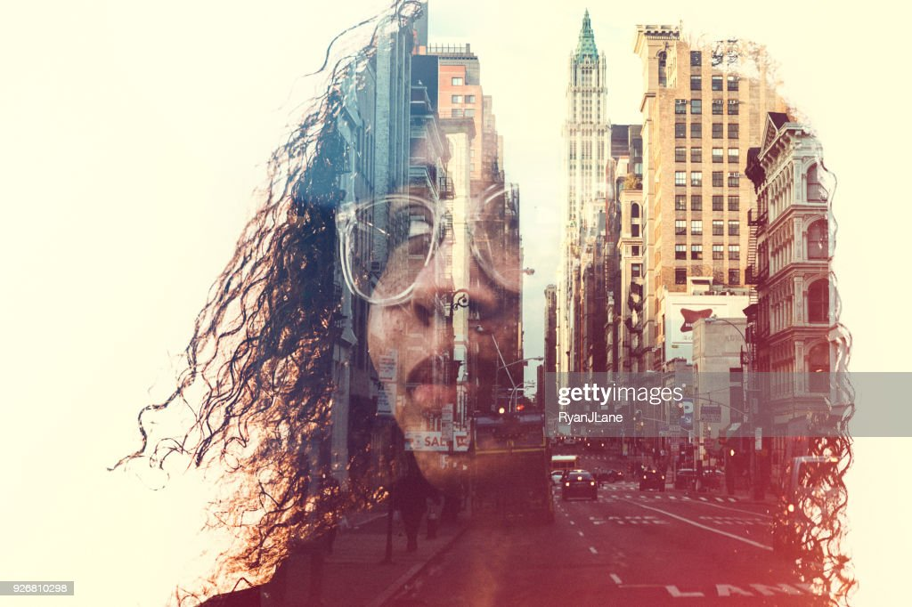 New York City Mind State Concept Image : Foto stock