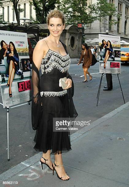 6/10/03 New York City NY Bryant Park Screening Room Jet Lag Premiere Juliette Binoche CR Carmen Valdes/Ron Galella Ltd