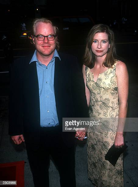 New York City N.Y. Premiere of 'Almost Famous'. Philip Seymour Hoffman with girlfriend Jasa Murphy. Photo by Evan Agostini/BEI Photo by Evan...