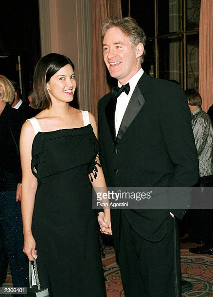New York City NY The American Museum of the Moving Image Salute to comic actor Steve Martin Actor Kevin Kline and wife Phoebe Cates Photo by Evan...