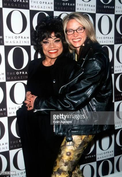 New York City 'O The Oprah Magazine' launch party at the Metropolitan Pavilion Eartha Kitt with her daughter Kitt Shapiro Photo by Evan...