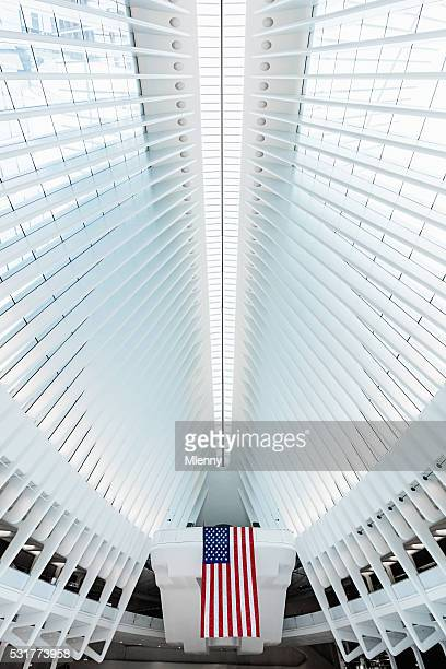 New York City Oculus WTC Verkehrsknotenpunkt