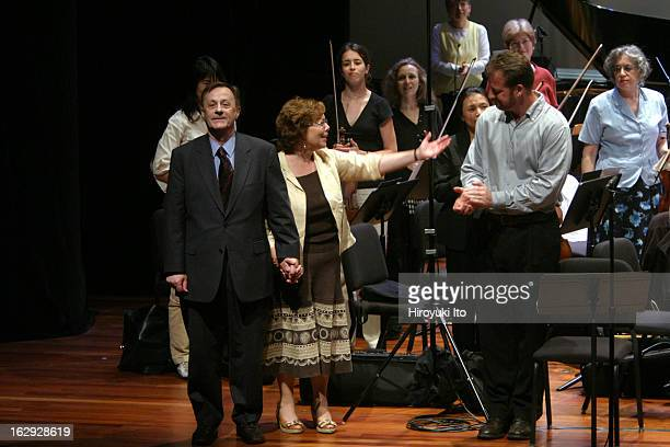 """New York City Opera presents """"Vox 2007: Showcasing American Composers"""" at the Skirball Center on Saturday afternoon, 2007. This image;From left, the..."""