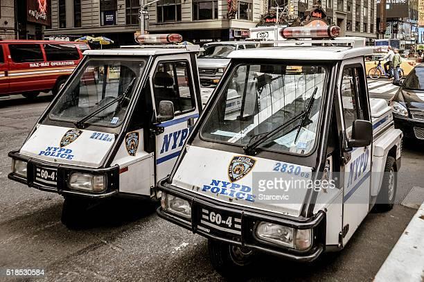 Cidade de Nova Iorque estacionamento polícia