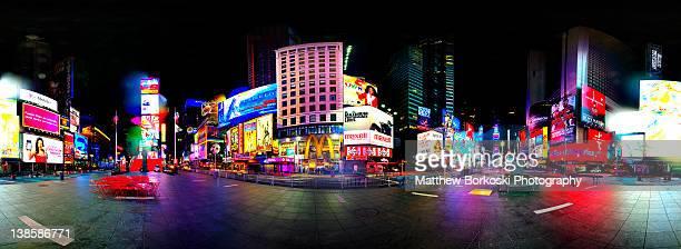 new york city - times square manhattan stock-fotos und bilder
